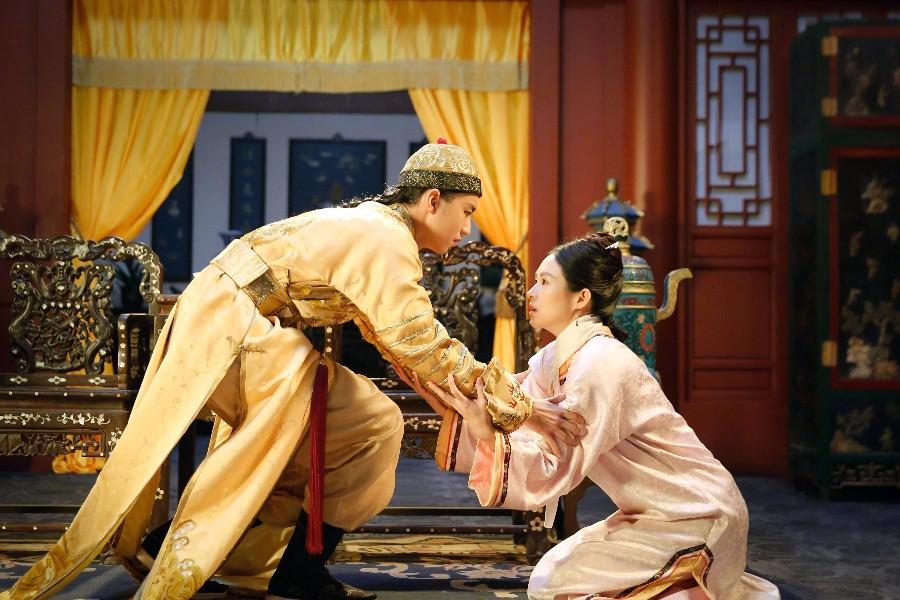 王俊凯和国际影后章子怡飙戏,气势一点没输