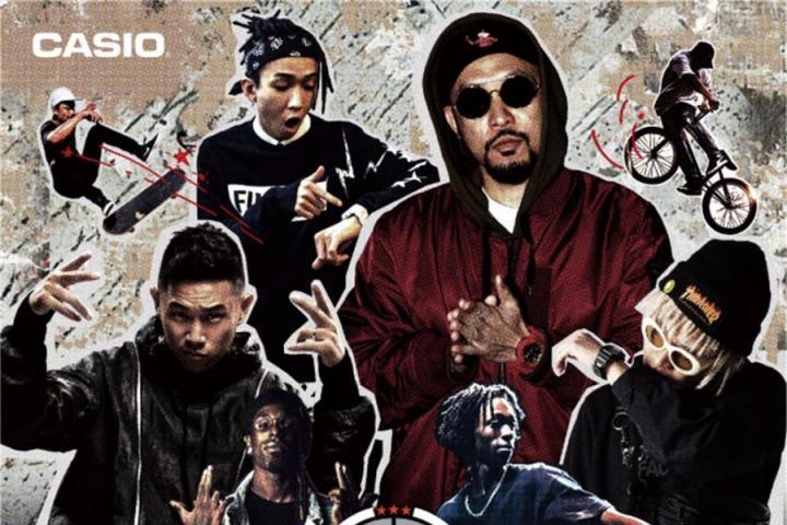 G-SHOCK35周年庆,热狗、TT、欧阳靖、布瑞吉同台献唱