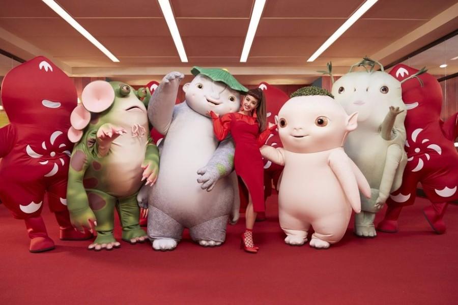 蔡依林为《捉妖记2》惊喜献声,与胡巴等一众萌妖共舞