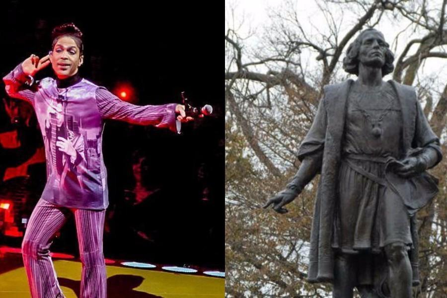千人请愿拆下哥伦布雕像,换上Prince纪念碑
